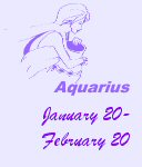 I am an Aquarius!